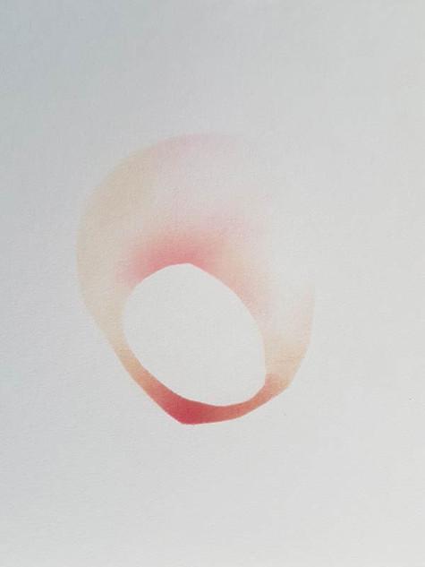 2018 | blush sur papier | 10 x 10