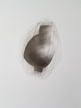 2018 | fusain et graphite sur papier | 40 x 30