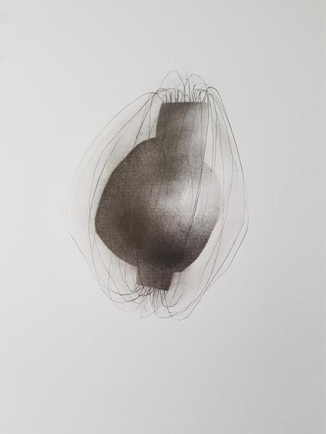 2018   fusain et graphite sur papier   40 x 30