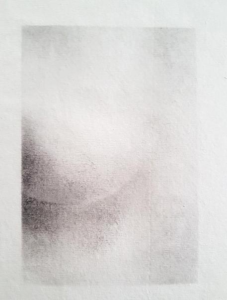 2017 | pierre noire et fusain sur papier | 20 x 13
