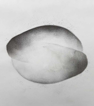 2017 | pierre noire et graphite sur papier | 20 x 15