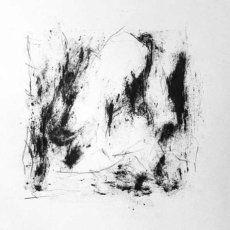 2017 | pierre noire et fusain sur papier | 13 x 13