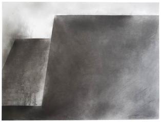 2018 | fusain graphite et pierre-noire sur papier | 50 x 65