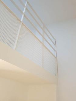 detail mezzanine appartement