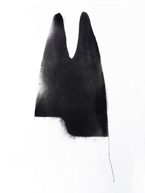 2019   fusain graphite et pierre noire sur papier   43 x 62