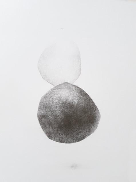 2017 | pierre noire et graphite sur papier | 40 x 30