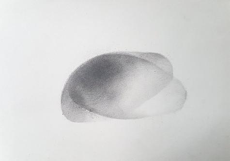 2017 | pierre noire et graphite sur papier | 20 x 30