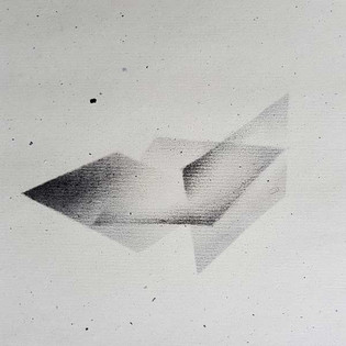 2017 | pierre noire et graphite sur papier | 13 x 13