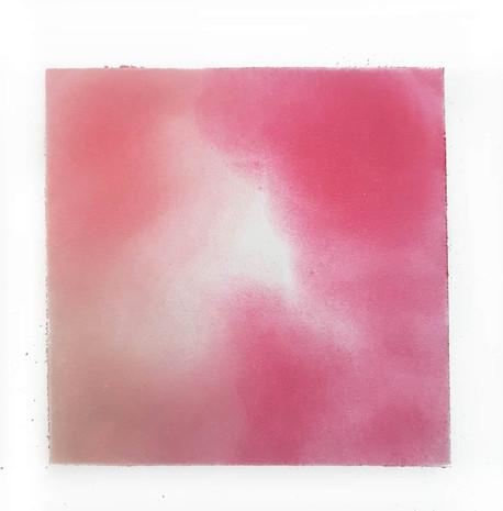 2018   blush sur papier   10 x 10