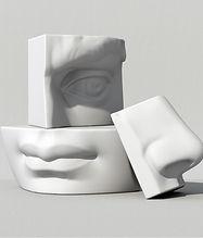 3D Yüz Parçaları
