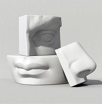 Peças da face 3D