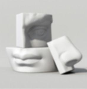 3D Face Parts