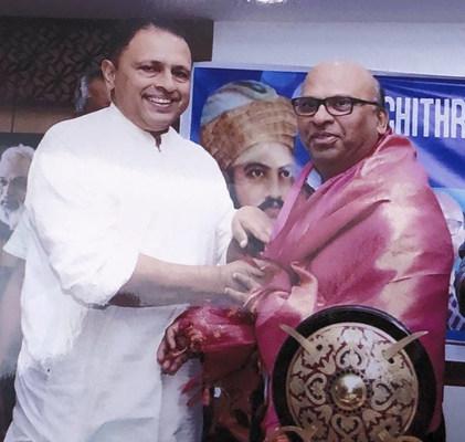 Veluthampy Dalava Felicitation