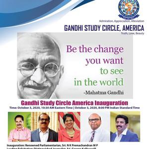 Gandhi Study Circle America
