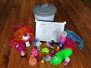 full sensory kit with bucket.jpg
