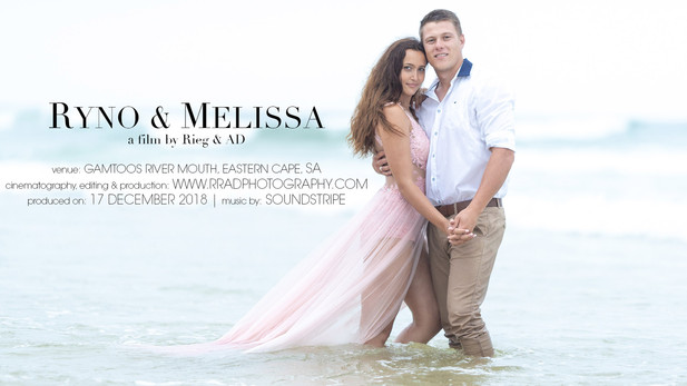 Ryno & Melissa - 'Save the Date'