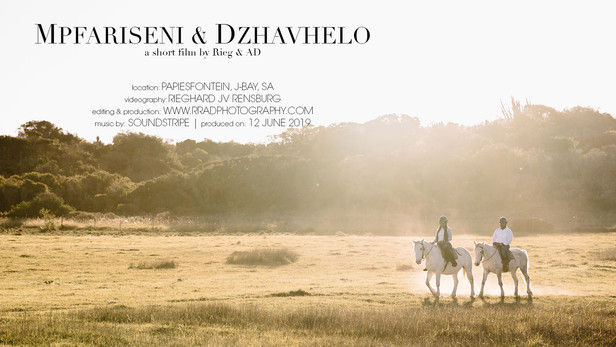 Mpfariseni & Dzhavhelo 'Save the Date'