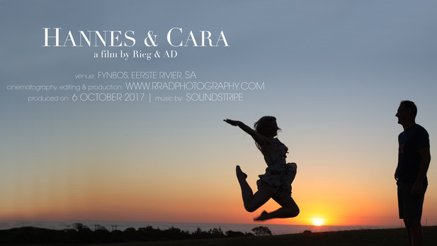 Cara & Hannes 'Save the Date'
