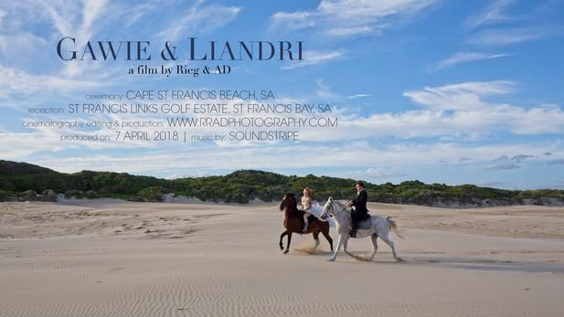 Gawie & Liandri @ St Francis Links by Rieg & AD Photography