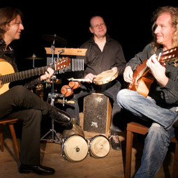 Candeiro 2011 mit Wolfgang Castner und Thomas Lensing