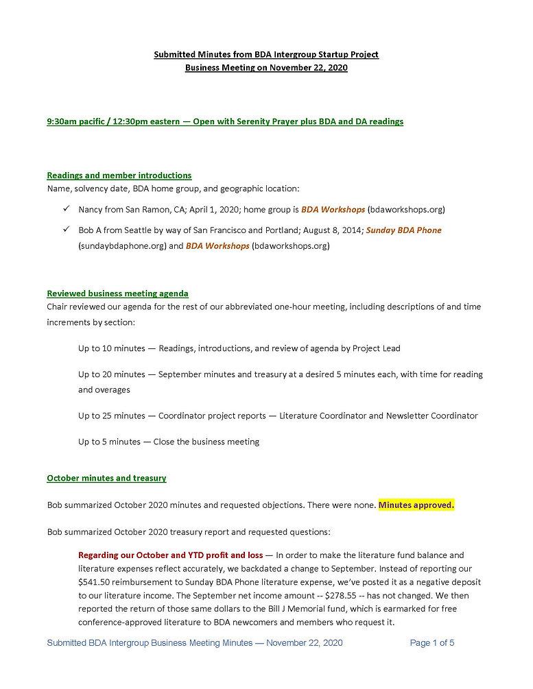 2020_11_22 - BDA Intergroup November 202