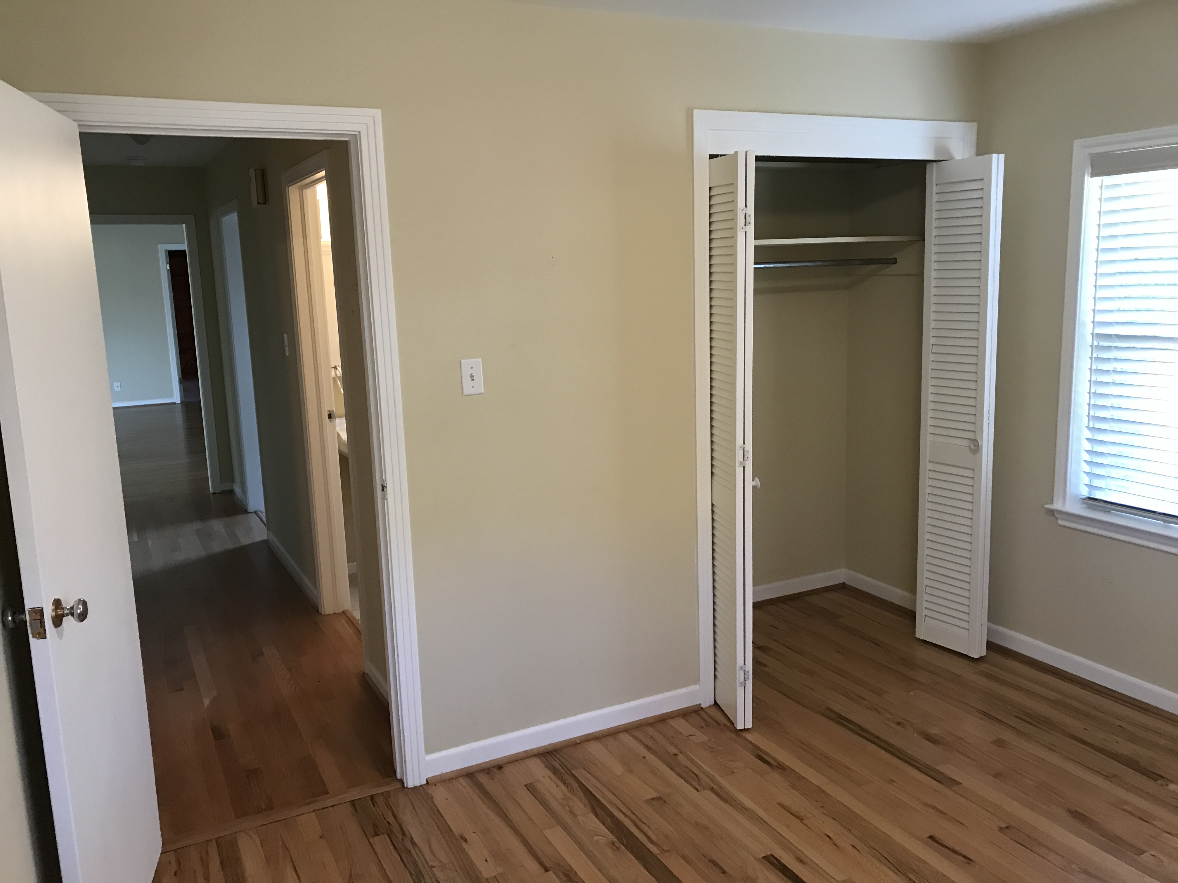 Bedroom/Closet Before