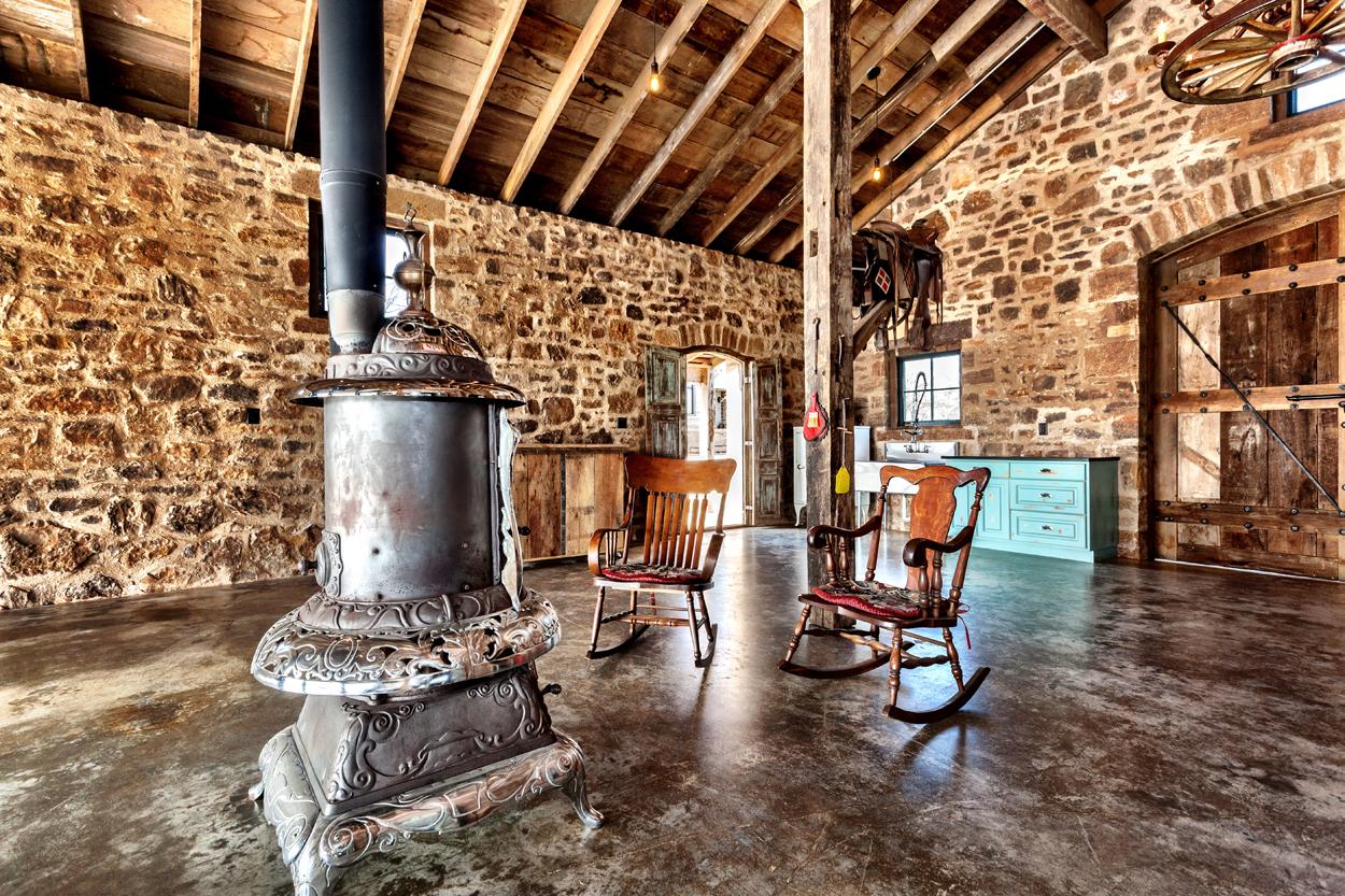 Bunk House Interior