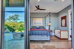 Master Bedroom With Sliders