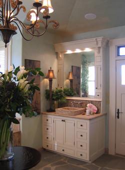 Master Bathroom His Vanity After