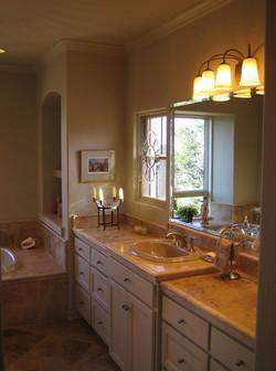 Master Bathroom His Vanity