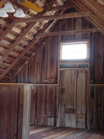 Barn Interior After