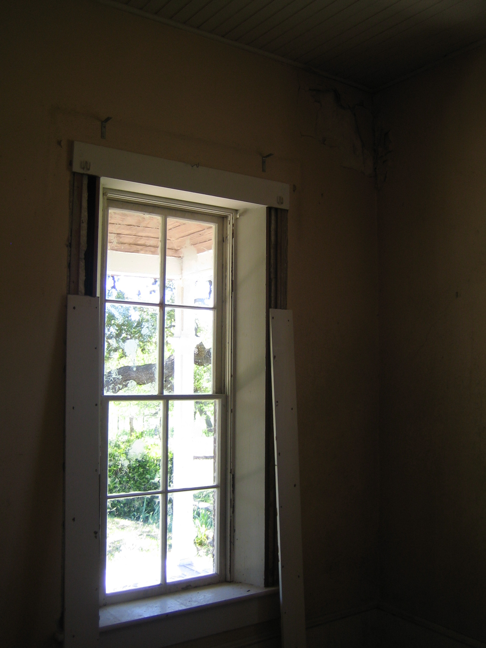 Window During Construction