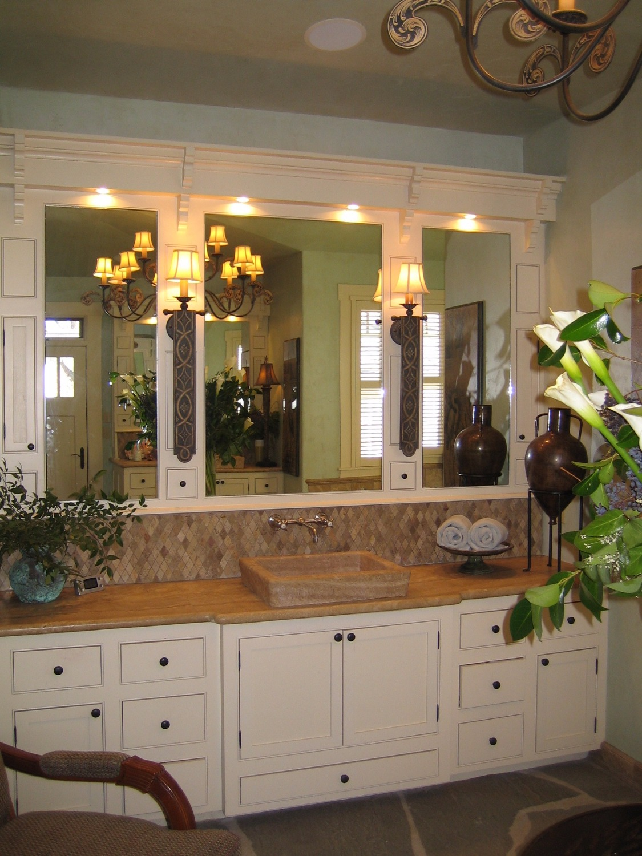 Master Bathroom Her Vanity After