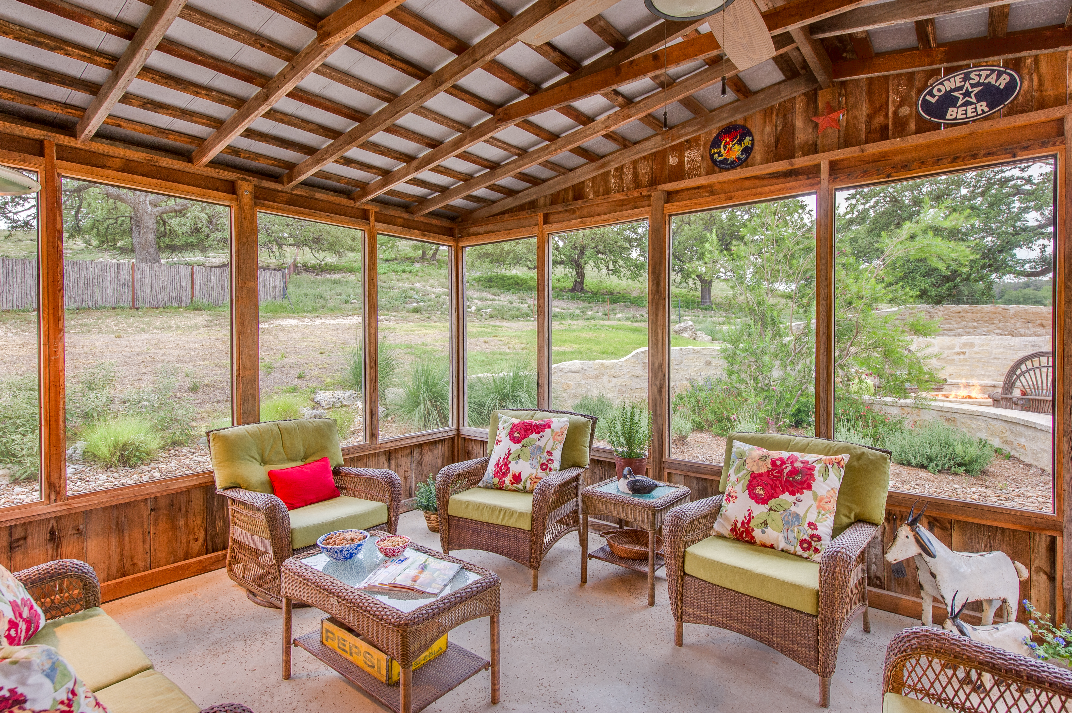 Screened In Porch After