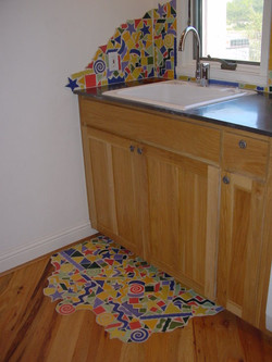 Tile in Laundry