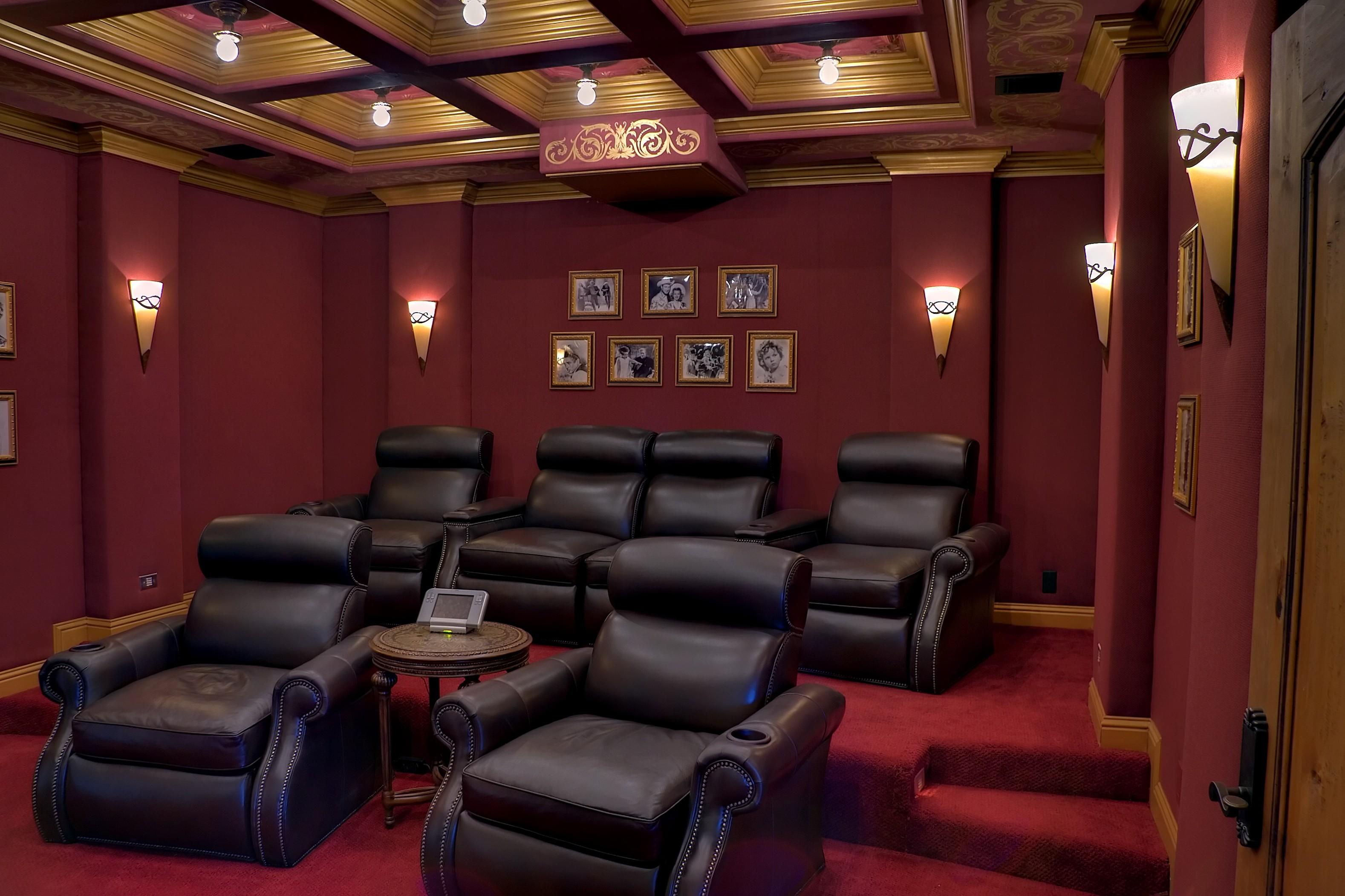 Media Room After