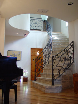 Piano and Main Stair