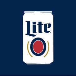 Miller Lite - Original White Can