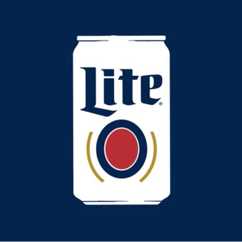 Miller Lite - Original White Can