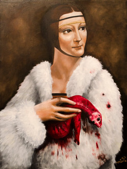The Lady with Dead Ermine