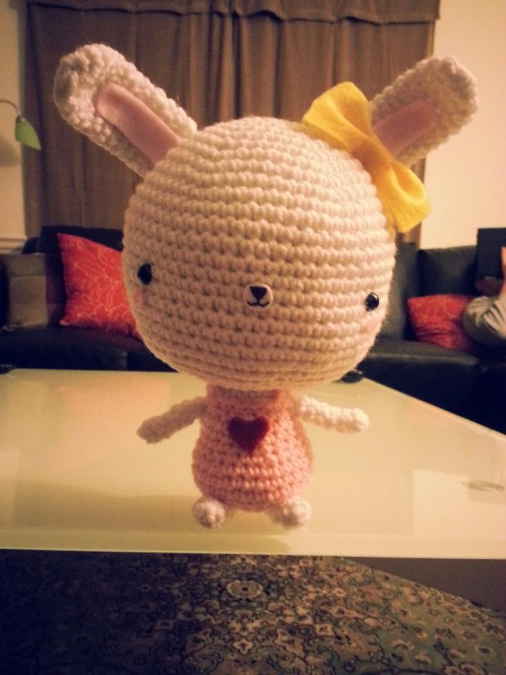 Bunny with a Big Head - 2