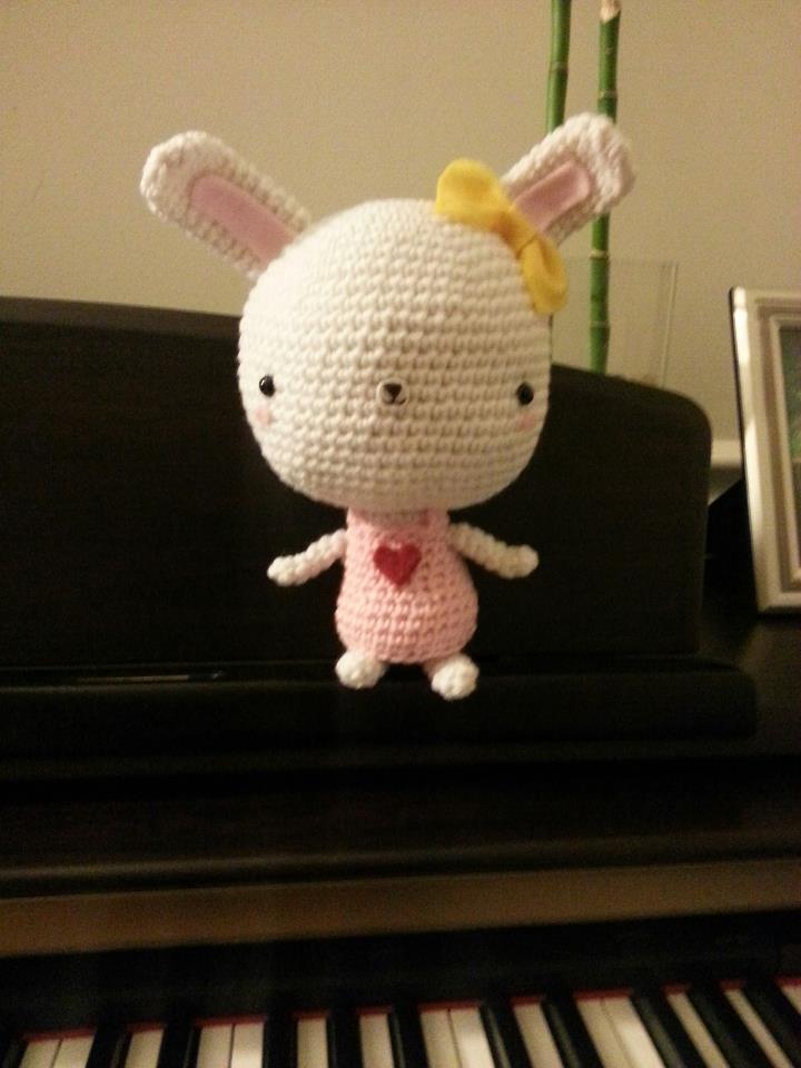 Bunny with a Big Head - 3
