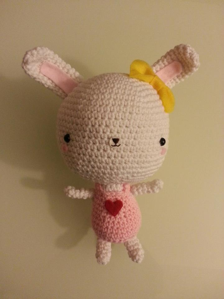 Bunny with a Big Head - 1
