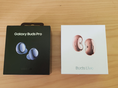 Galaxy Pro Buds Pro & Galaxy Buds Live Unboxing and Review
