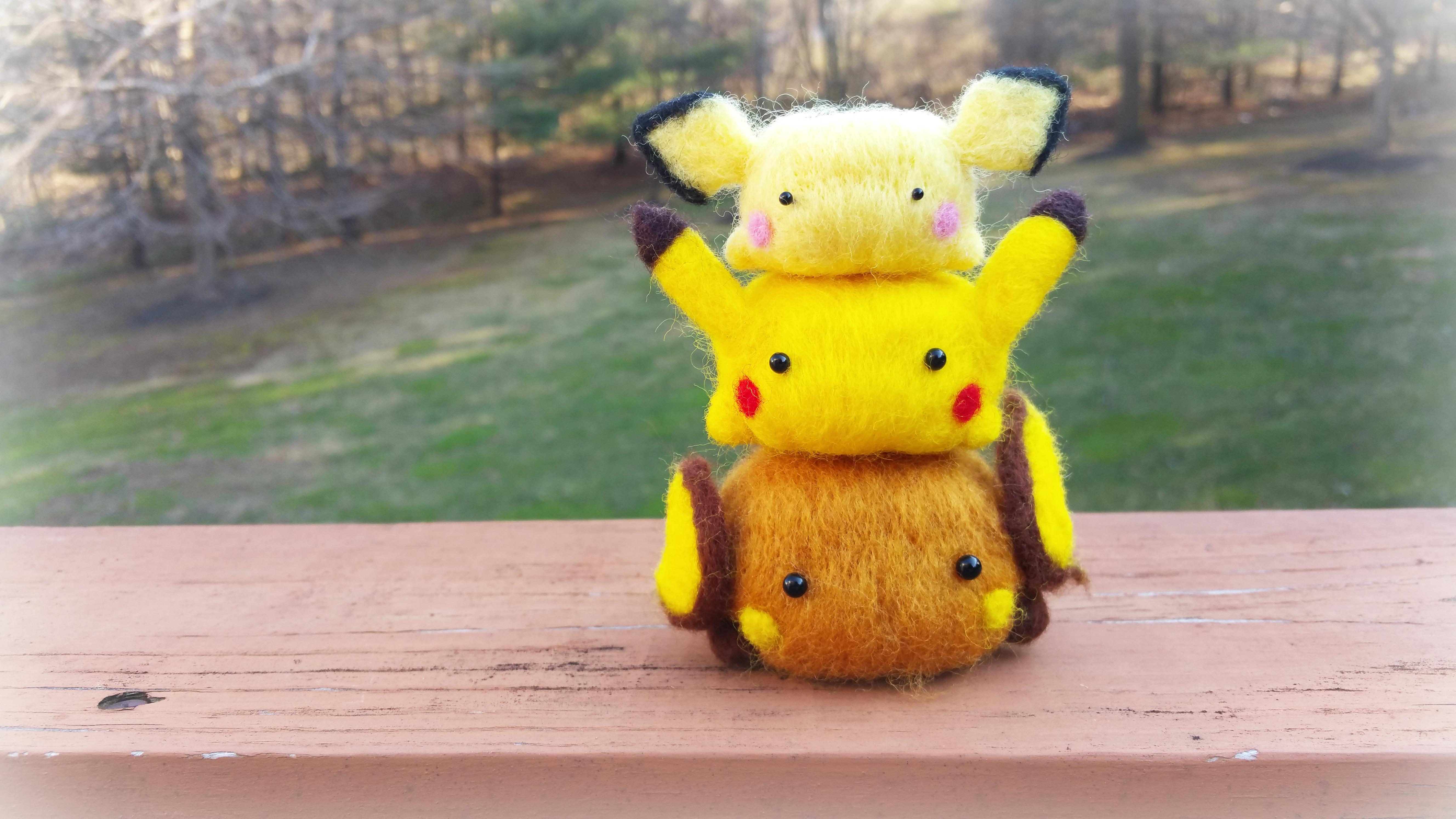 Pichu, Pikachu, Raichu