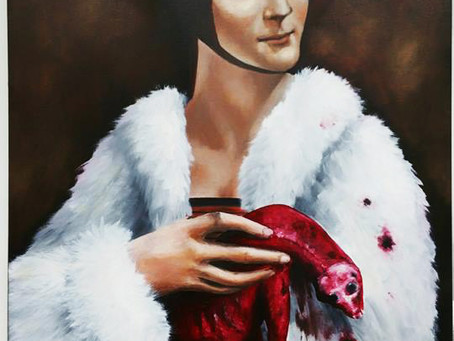 Lady with the Dead Ermine