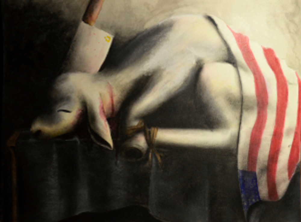 9 / 28 / 2014 Pastel, Charcoal, Water color on illustration board