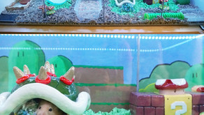 Super Mario Themed Cage