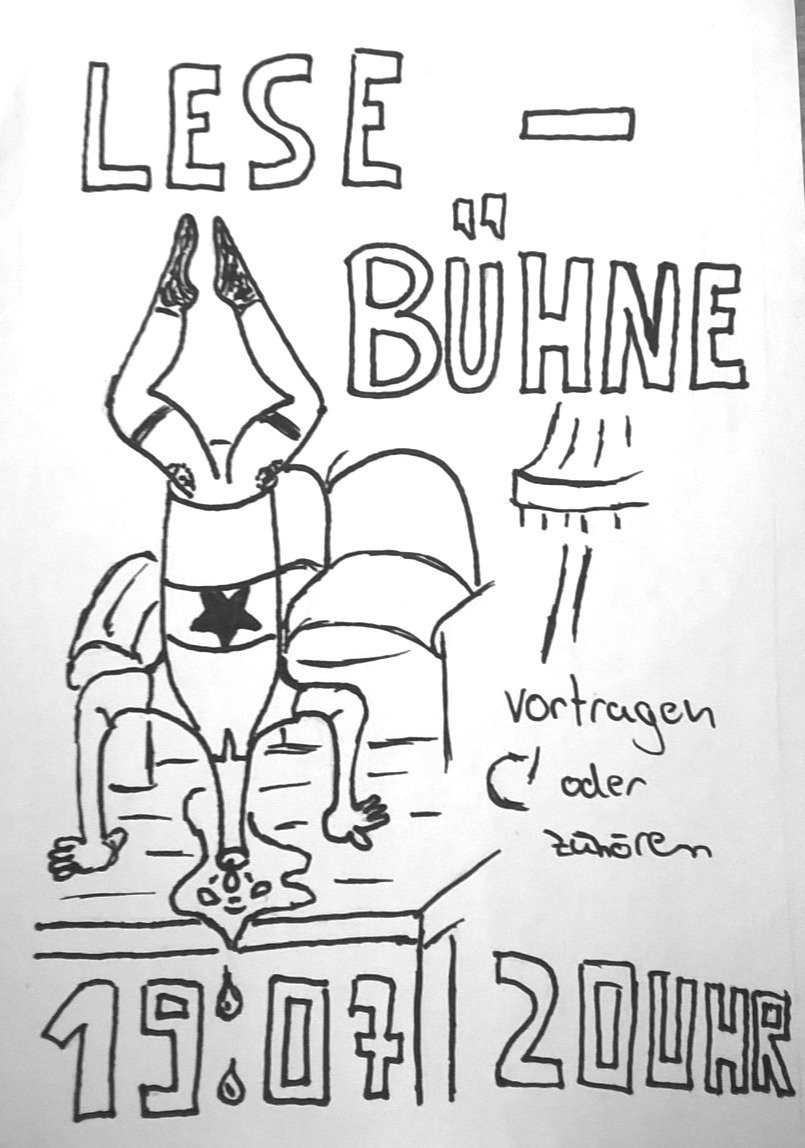Flyer_Lesebühne