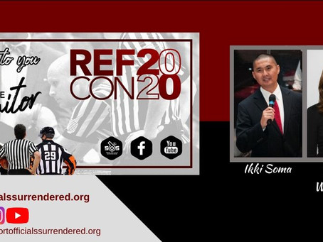 Ikki Soma & Debbie Williamson to speak at REF Conference 2020: At The Monitor